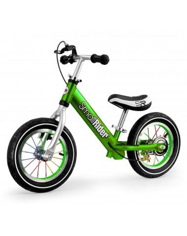 Легкий алюминиевый детский беговел Small Rider Foot Racer 3 AIR (зеленый)