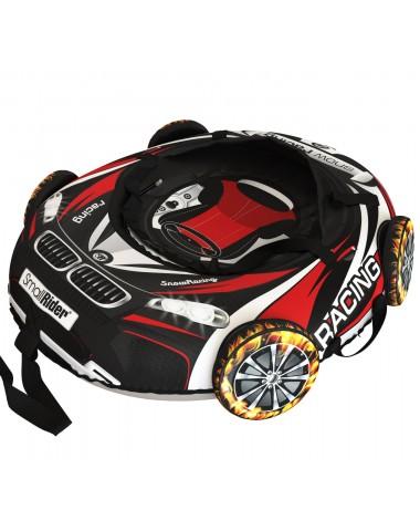 """Тюбинг Small Rider Snow Tubes 4 (""""Машинки XL"""" с колесами) (ВМ черно-красный)"""