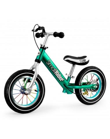 Легкий алюминиевый детский беговел Small Rider Foot Racer 3 AIR (аква)