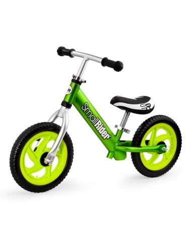 Легкий алюминиевый детский беговел Small Rider Foot Racer 3 EVA (зеленый)