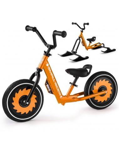 Беговел-снегокат с лыжами и колесами Small Rider Roadster - X Combo (бронза)