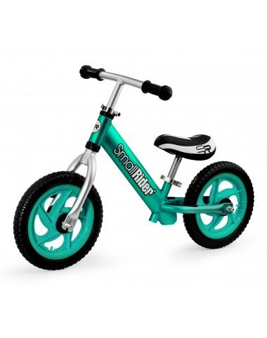 Легкий алюминиевый детский беговел Small Rider Foot Racer 3 EVA (аква)