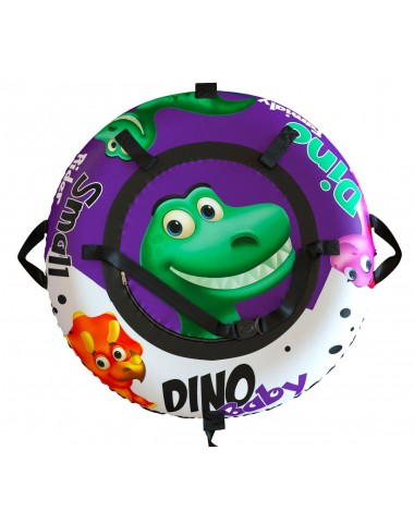 """Тюбинг Small Rider Snow Tubes 4 (""""Гнездо динозавра 100 см"""") (фиолетовый)"""