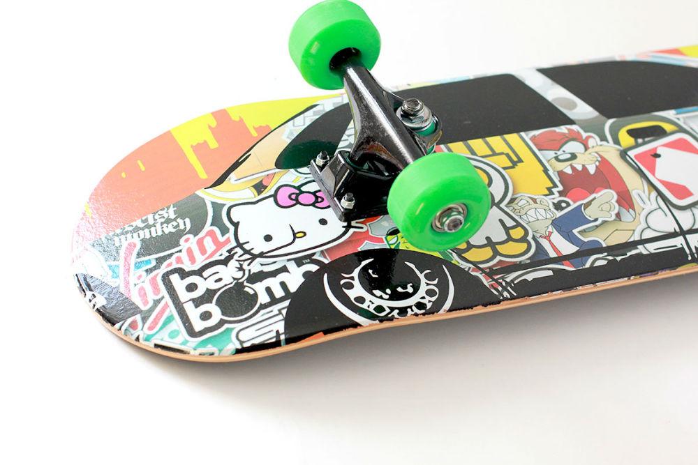 Полупрофессиональный скейтборд Turbo-FB  STICKER CAR